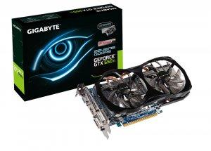 Gigabyte GV-N65TOC-2GI  NVIDIA GeForce GTX650 TI 2048 MB -näytönohjain PCI-e-väylään