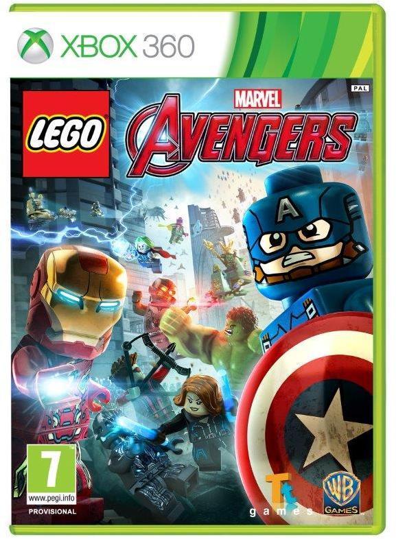 LEGO Marvel Avengers -peli, Xbox 360