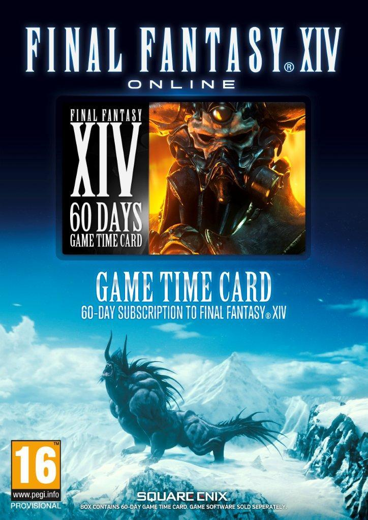 60 day pre paid game card: