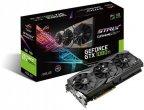 Asus GeForce GTX 1080 Ti ROG-STRIX-GTX1080TI-11G-GAMING 11264 Mt -näytönohjain PCI-e-väylään