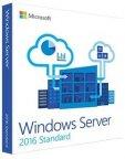 Microsoft Windows Server Standard 2016 - 64-bit -käyttöjärjestelmä, englanninkielinen, DVD