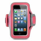 Belkin Slim-fit Plus käsihihna Apple iPhone 5/5s:lle, pinkki