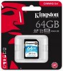 Kingston 64 Gt SD Canvas Go! UHS-I Speed Class 3 (U3) -muistikortti
