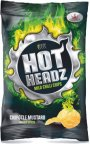 Hot-Headz Chipotle Mustard -perunalastut, 142 g