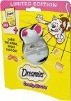 Dreamies Snacky Mouse Juusto, 60 g -kissan makupalat ja hiirilelu