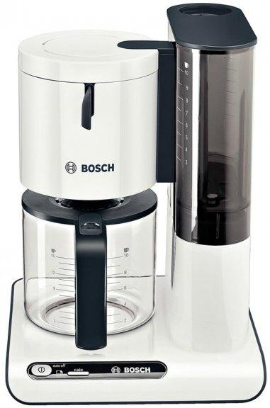 bosch styline tka8011 kahvinkeitin valkoinen kahvinkeittimet kahvi pienkoneet. Black Bedroom Furniture Sets. Home Design Ideas