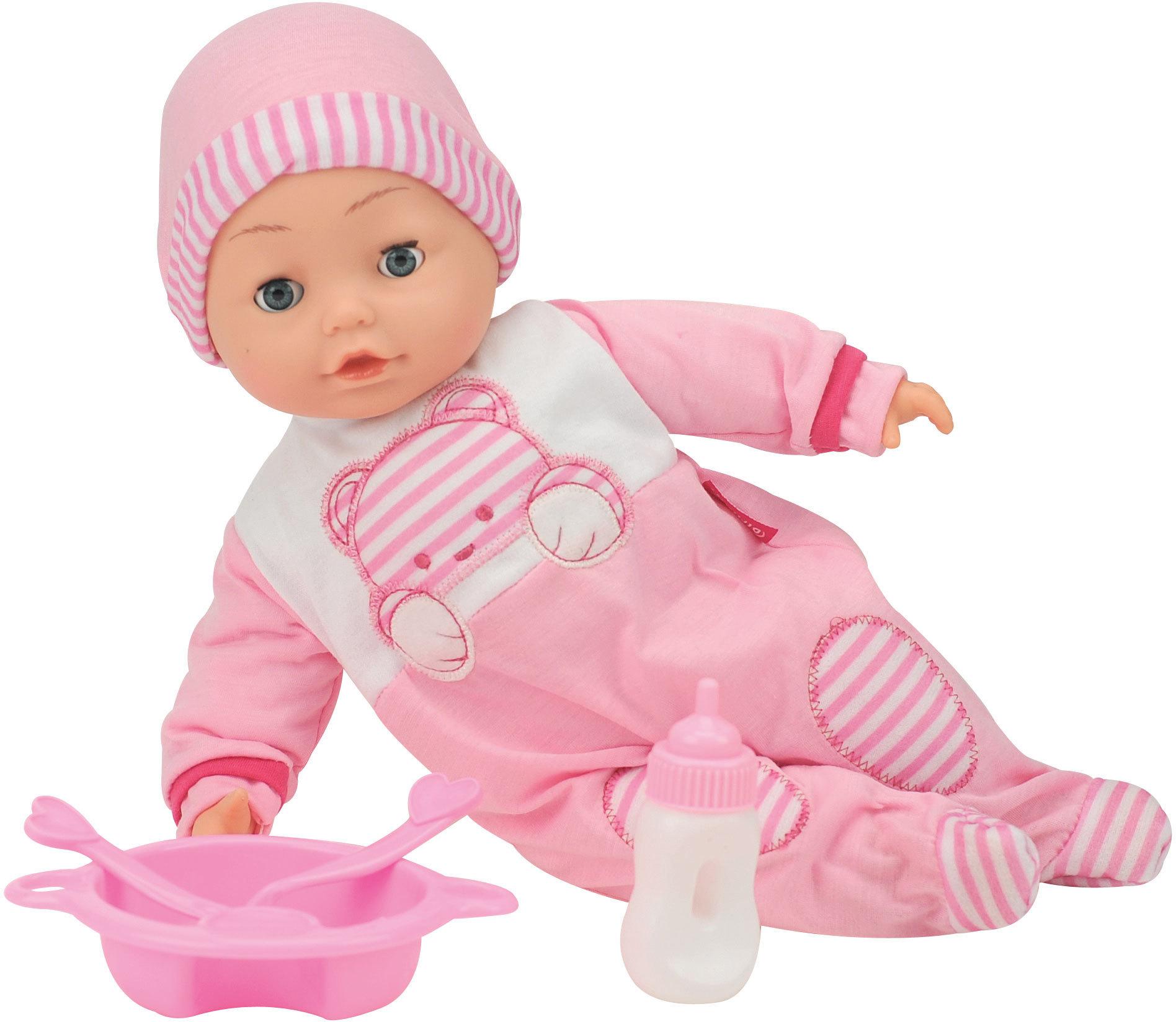 bambolina jasmine suomea puhuva nukke 40cm vauvanuket. Black Bedroom Furniture Sets. Home Design Ideas
