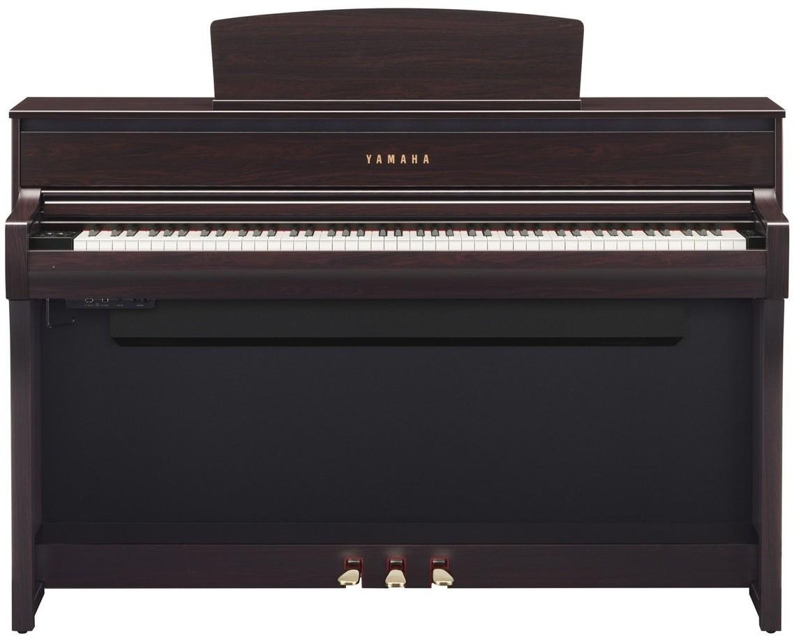 yamaha clp 675 clavinova digitaalipiano ruusupuu. Black Bedroom Furniture Sets. Home Design Ideas